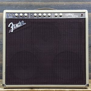FENDER VIBRO-KING CUSTOM SHOP BLONDE 60-WATT ALL-TUBE 3X10 GUITAR COMBO AMPLIFIER W/FOOTSWITCH #1237