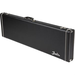 FENDER G&G DLX J BASS BLACK AMP LOGO, ORANGE INTERIOR