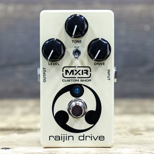 MXR CUSTOM SHOP CSP037 RAIJIN DRIVE OVERDRIVE/DISTORTION EFFECT PEDAL AVEC BOITE #AC23P054