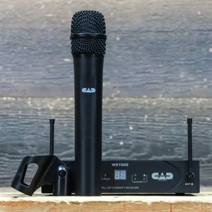CAD WX1600 UHF 100-CHANNEL FREQUENCY BAND G HANDHELD WIRELESS SYSTEM AVEC BOITE #18150365