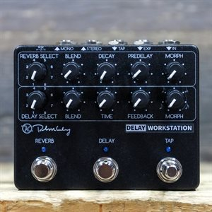 KEELEY ELECTRONICS DELAY WORKSTATION DELAY/REVERB WITH TAP EFFECT PEDAL W/BOX #01826