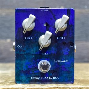 DOC MUSIC STATION VINTAGE FUZZ GERMANIUM MP41 FUZZ DISTORTION