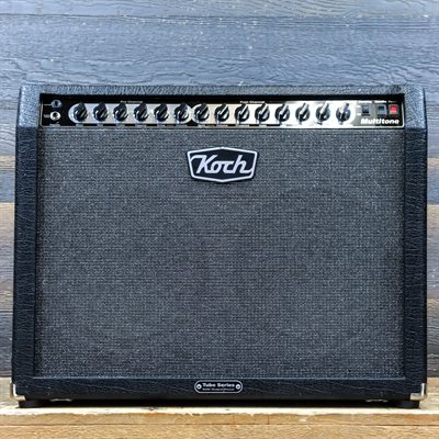 KOCH MULTITONE 50W VERSION EL34 TUBE SERIES 2X12 GUITAR COMBO AMPLIFIER AVEC PÉDALIER #311100970