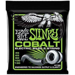 ERNIE BALL 2736 BASS 5 SLINKY COBALT - 45-130