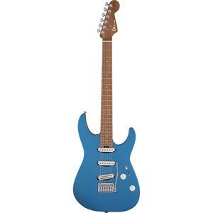 CHARVEL USA SELECT DK22 SSS 2PT CM ELECTRIC BLUE