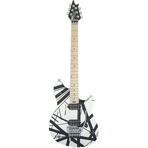 EVH WOLFGANG SPECIAL STRIPPED WHITE & BLACK
