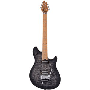 EVH WOLFGANG SPECIAL QM, BAKED MAPLE FINGERBOARD, CHARCOAL BURST 5107701597