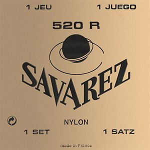 SAVAREZ 520R TRADITIONAL RED CARD STRONG TENSION