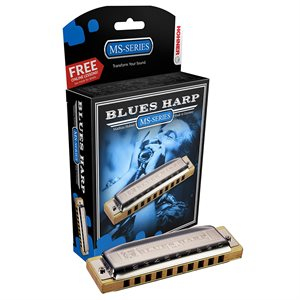 HOHNER BLUES HARP 532BX-G DIATONIC, KEY OF G