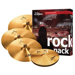 ZILDJIAN PACK A ROCK 14-17-19-20 A0801R