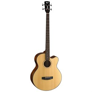 CORT AB850F SUPER JUMBO ACOUSTIC BASS NATURAL AVEC ÉTUI SOUPLE
