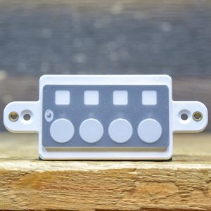 SYMETRIX ARC-EX4E MODULAR REMOTE EXTENSION WITH 4 SWITCHES AND LEDS