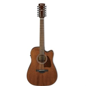IBANEZ AW5412CE-OPN ARTWOOD CUTAWAY 12-STRING OPEN PORE NATURAL