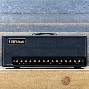 FRIEDMAN BE-100 DELUXE THREE-CHANNEL 100-WATT HAND-WIRED GUITAR AMPLIFIER HEAD