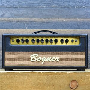 BOGNER SHIVA EL34 REVERB 80-WATT 2-CHANNEL GUITAR AMPLIFIER HEAD AVEC PÉDALIER #018993