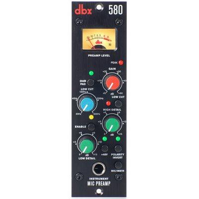 DBX 580 MIC PREAMP FORMAT 500
