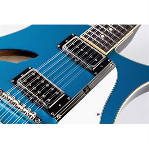 DUESENBERG DOUBLE CAT 12 STRINGS CATALINA BLUE