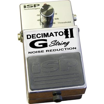ISP DECIMATOR II G STRING NOISE REDUCTION PEDAL