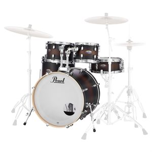 PEARL DMP925SPC260 DECADE MAPLE 5-PIECE SATIN BROWN BURST (2218BD, 1007T, 1208T, 1616FT, 1455SD)