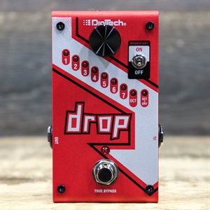 DIGITECH DROP COMPACT POLYPHONIC DROP TUNE PITCH-SHIFTER AVEC BOITE