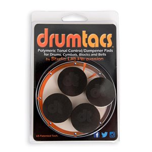 DRUMTACS DAMPENERS (4-PACK)