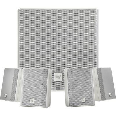 ELECTRO-VOICE EVID-S44 WHITE SUB+4 SATELLITE