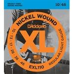 D'ADDARIO EXL110 NICKEL WOUND, REGULAR LIGHT, 10-46