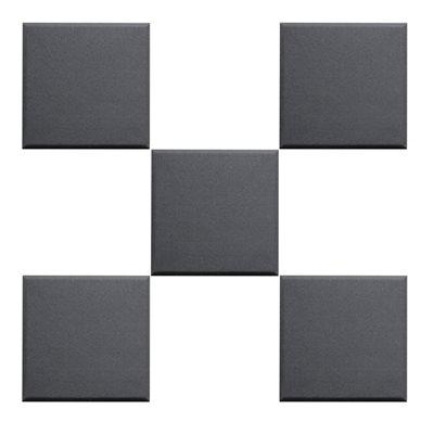 PRIMACOUSTIC F121-1212-00 BROADWAY 12X12X1 SCATTER BLOCKS, BLACK - 24 UNITÉS