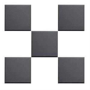 PRIMACOUSTIC BROADWAY 12X12X1 SCATTER BLOCKS F121-1212-00, BLACK - ENSEMBLE DE 24