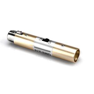 HOSA GMS-274 POWER SWITCH XLR3F TO XLR3M