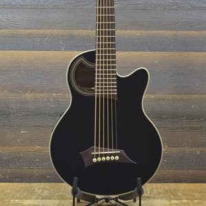 WARWICK ROCKBASS ALIEN STD 6-STRING ACOUSTIC BLACK HIGH POLISH