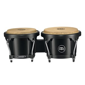 MEINL HEADLINER ABS BONGO PLUS 6 1/2+7 1/2 BLACK HB50BK HB50BK