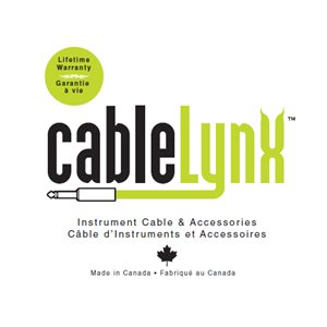 CABLE LYNX HP-10S-PRO 1/4 TRS F A 1/4 TRS MALE 10 PIEDS