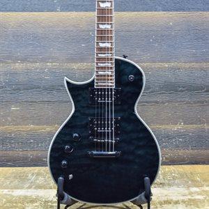 ESP LTD EC-1000 PIEZO LH LEFT-HANDED SEE THRU BLACK #IW18030989