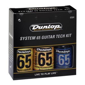 DUNLOP FORMULA 65 GUITAR TECH CARE KIT