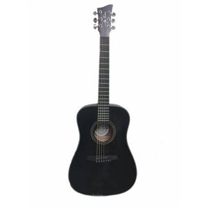 JAY TURSER JTA53-SBK 3/4 ACOUSTIC GUITAR, SATIN BLACK