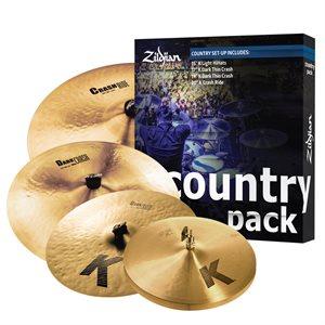 ZILDJIAN PACK K BOX COUNTRY SET 15 17 19 20 K0801C