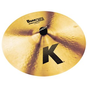 ZILDJIAN K DARKCRASH MEDIUM THIN 18 K0915