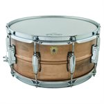 LUDWIG LC663 6.5X14 NAT PATINA COPPERPHONIC