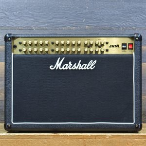 MARSHALL JVM410C 100-WATT ALL-TUBE 2X12 GUITAR COMBO AVEC PÉDALIER #M-2016-50-0104-2