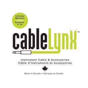 CABLE LYNX M1F-1/4-PRO 1 PIEDS XLR FEMALE A 1/4 AMPH CONNECT