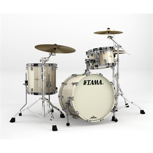 TAMA MA30CMBNS-CHS STARCLASSIC MAPLE 3 MORCEAUX CHAMPAGNE SPARKLE BLACK NICKEL HARDWARE (2014BD, 1208T, 1414FT)