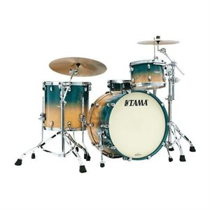 TAMA ME30CMBS-VOLM STARCLASSIC MAPLE 3 MORCEAUX EXOTIC OCEAN BLUE FADE MOVINGUI BLACK NICKEL HARDWARE (2014BD, 1208T, 1414FT)