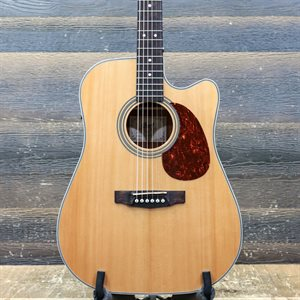 CORT MR500E NT DREADNOUGHT CUTAWAY NATURAL GLOSS TOP ACOUSTIC #171003240