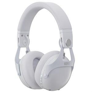KORG NC-Q1 WH SMART NOISE CANCELLING DJ HEADPHONES, WHITE