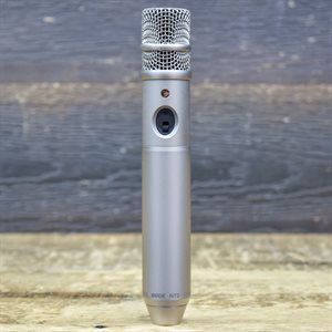 RODE MICROPHONES NT3 STUDIO AND LOCATION MULTI-POWERED 3/4 CONDENSER MICROPHONE W/BOX #0075575
