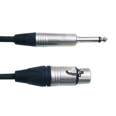 DIGIFLEX NXFP-3 XLR TO 1/4, 3 PIEDS
