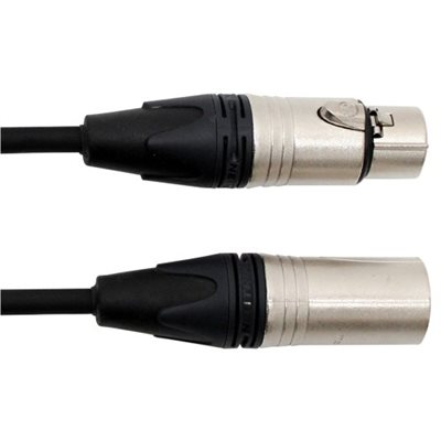 DIGIFLEX TOUR SERIES MIC CABLES XLRM to XLRF CONNECTORS NXX-1, 1 PIEDS