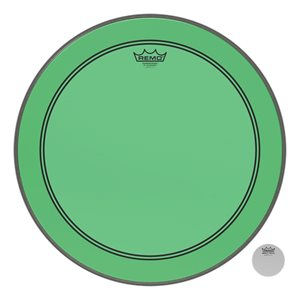 REMO P3 COLORTONE GREEN BASS 20 P3-1320-CT-GN