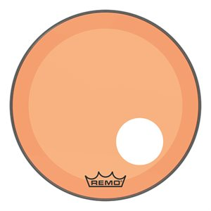 REMO P3 COLORTONE ORANGE BASS OFFSET HOLE 20 P3-1320-CT-OGOH